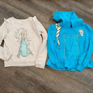 Girls Frozen Elsa Sweatshirt Bundle